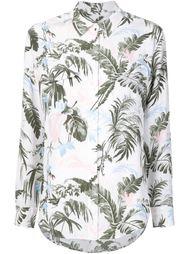 рубашка с ботаническим принтом Equipment