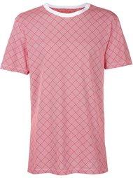 футболка с сетчатым принтом Christopher Raeburn