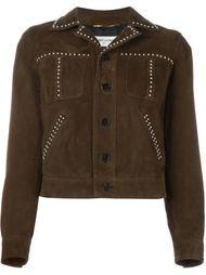 куртка в стиле вестерн с заклепками Saint Laurent