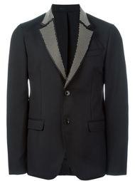 пиджак с заклепками на лацканах Alexander McQueen