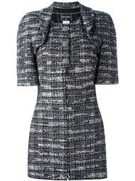 декорированное платье и укороченный пиджак Chanel Vintage
