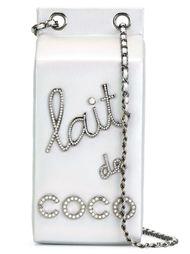 сумка на плечо в виде пакета молока Chanel Vintage