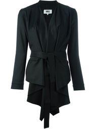 драпированный пиджак Mm6 Maison Margiela
