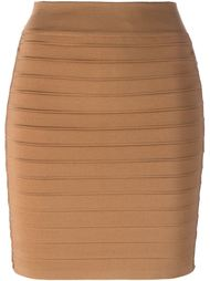 мини-юбка со шнуровкой Balmain