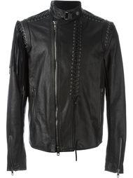 куртка с декоративной шнуровкой  Diesel Black Gold