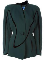 пиджак с застежкой на пуговицу Thierry Mugler Vintage
