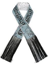 шаль с принтом-логотипом Astrid Andersen