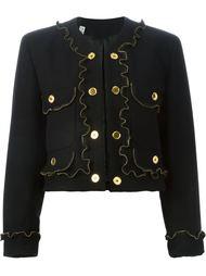 куртка с отделкой в виде молний Moschino Vintage
