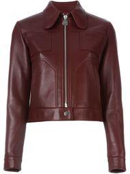 куртка на молнии с панельным дизайном Carven