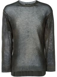 свитер плотной вязки  Avant Toi