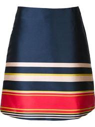 полосатая юбка А-образного силуэта Suno