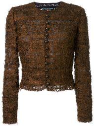 трикотажный пиджак Jean Louis Scherrer Vintage