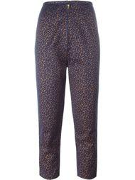 брюки с ситцевым принтом Jean Paul Gaultier Vintage