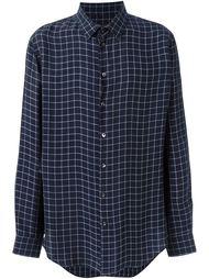 рубашка в клетку Giorgio Armani