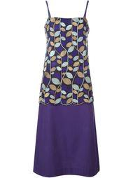 платье с растительным узором Comme Des Garçons Vintage