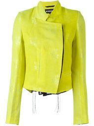 жаккардовая куртка с цветочным принтом Ann Demeulemeester