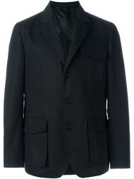 блейзер с накладными карманами Givenchy