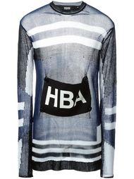 свитер с логотипом  Hood By Air
