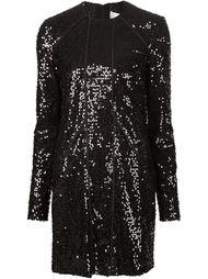 платье с пайетками Victoria Beckham