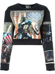 толстовка с принтом Captain America Fausto Puglisi