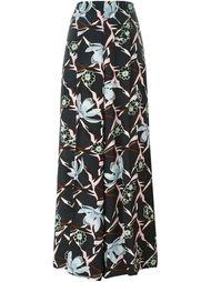 широкие брюки с цветочным принтом   Dorothee Schumacher
