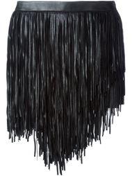 мини-юбка с бахромой Saint Laurent