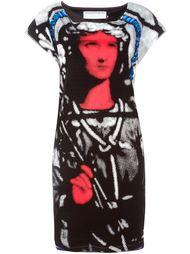 платье с графическим принтом Jc De Castelbajac Vintage