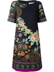 платье шифт с цветочным принтом Etro