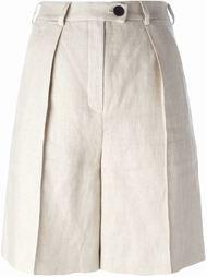 плиссированные шорты  Carven