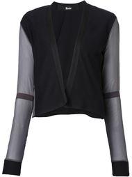 пиджак с прозрачными рукавами Musée