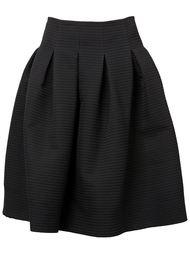 плиссированная пышная юбка  Oscar de la Renta