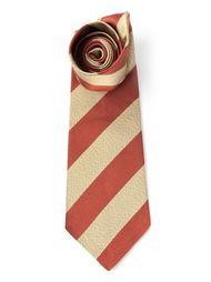 галстук в полоску Céline Vintage