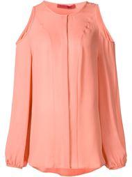 блузка с вырезами на плечах Tamara Mellon