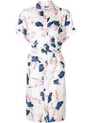 платье-рубашка с абстрактным принтом Julien David