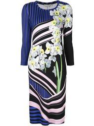 трикотажное платье с цветочным принтом Mary Katrantzou