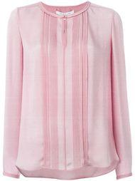 плиссированная блузка  Diane Von Furstenberg