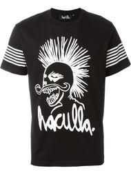 футболка с принтом логотипа  Haculla