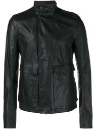 кожаная армейская куртка Rick Owens