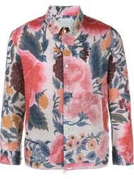 рубашка 'Joel' с цветочным мотивом By Walid