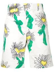 палубные шорты с цветочным принтом Julien David
