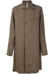 однобортное пальто A Diciannoveventitre