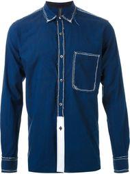 рубашка с нагрудным карманом Miharayasuhiro