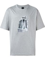 футболка с принтом  Juun.J