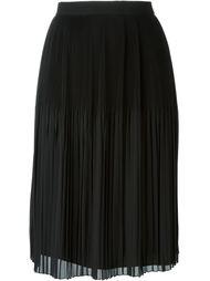 гофрированная юбка миди Givenchy
