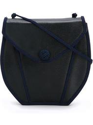 сумка с плетеной окантовкой Yves Saint Laurent Vintage
