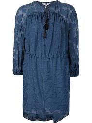 свободное платье с кисточками на завязках Derek Lam 10 Crosby