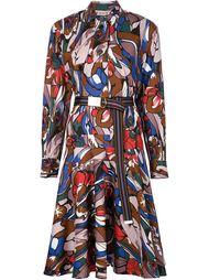 платье-рубашка с принтом Marni
