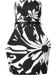 приталенное платье без бретелек Kaufmanfranco