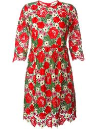 платье с вышивкой макраме P.A.R.O.S.H.