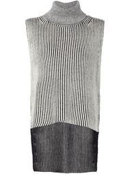 полосатый свитер без рукавов Derek Lam 10 Crosby